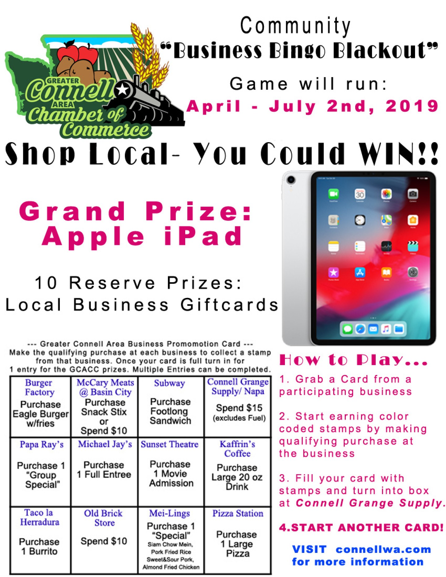 Bingo Flyer - Business Promo